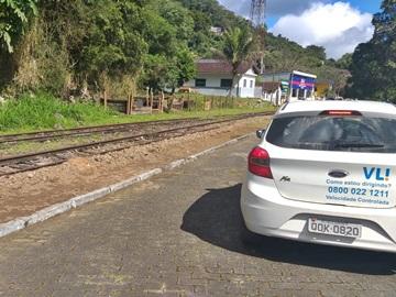 Equipe técnica conclui inspeção na ferrovia entre Marechal Floriano e Matilde