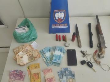 Homem que roubou carros e comércio também tentou matar mulher em Marechal Floriano