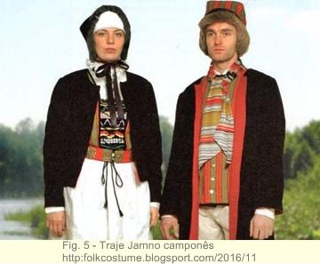 Trajes tradicionais de danças na antiga Pomerânia 5