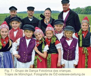 Trajes tradicionais de danças na antiga Pomerânia 7