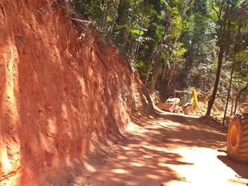 Estrada vicinal em Marechal Floriano recebe reformas 2