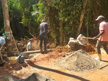 Serviço para estruturar pavimentação de estrada no interior de Marechal Floriano