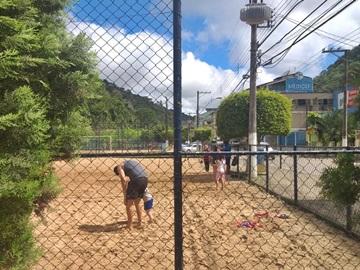 Campinhos de areia funcionando conforme decreto em Marechal Floriano.jpeg
