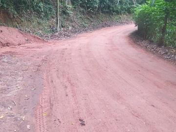 Cascalho e massa asfáltica recuperam a Estrada do Caracol em Marechal Floriano 2
