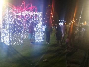 Distanciamento social é mantido no Natal Luz em Marechal Floriano 3