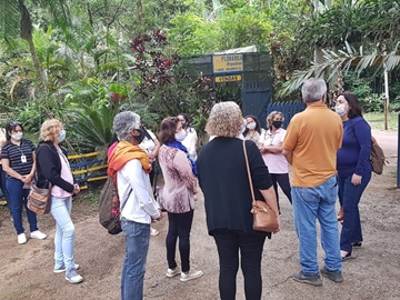 Município de Marechal Floriano visitado por guias turísticos da Grande Vitória