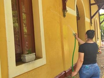 Espaços do prédio do Museu Municipal de Marechal Floriano será fechado após atos de vandalismo