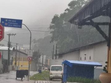 Mais chuvas previstas para essa quinta feira em Marechal Floriano