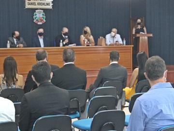 Prefeito vice e vereadores de Marechal Floriano são diplomados