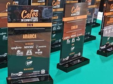 Premiação distribui R 130 mil para os produtores dos melhores cafés do Espírito Santo