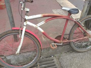Trabalhador braçal recupera bicicleta roubada em Marechal Floriano