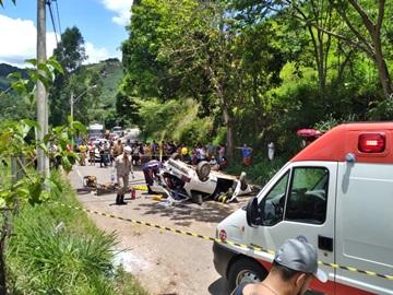 Acidente deixa dois feridos em Conceição do Castelo