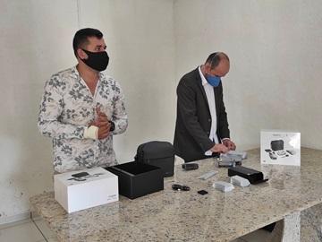 Conselho de Segurança doa drones para reforçar o combate à criminalidade em Afonso Cláudio