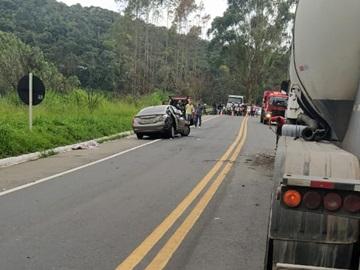 Criança de oito anos morre em acidente na BR 262
