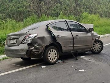 Criança de oito anos morre em acidente na BR 262 2