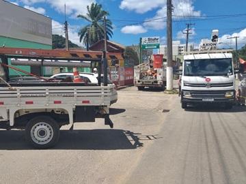 Eletricistas da EDP reformulam distribuição de eletricidade em Marechal Floriano