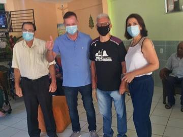 Idosos da Sou Feliz são os primeiros a serem vacinados contra Covid 19 em Marechal Floriano 2