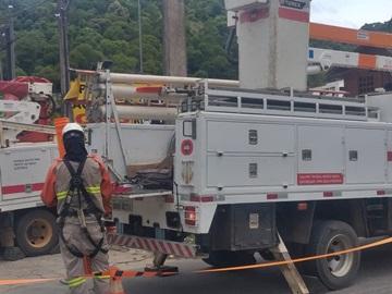 Empresa de eletricidade em Marechal Floriano encerrará reformulações em um bairro