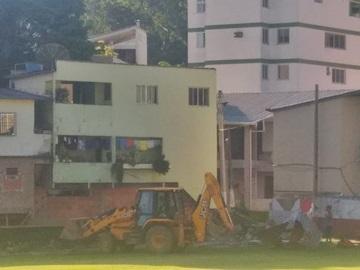 Campo de futebol terá novo vestiário em Marechal Floriano 2