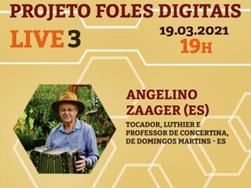 Capixaba de Domingos Martins fala sobre concertina a artistas de Pernambuco 2
