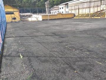 Campo de futebol soçaite de Marechal Floriano receberá novo piso sintético