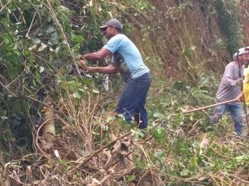 Continua a limpeza de estradas rurais obstruídas por temporal em Marechal Floriano
