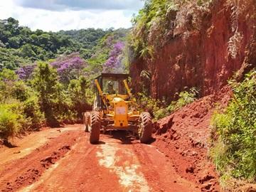 Defesa Civil acompanha trabalhos de recuperação de estradas em Marechal Floriano 2
