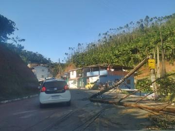 Tempestade provoca destruição em Marechal Floriano 2