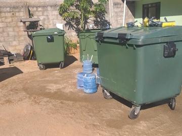 Novos contêineres facilitarão o recolhimento de lixo em Marechal Floriano