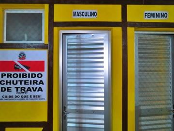 Prefeitura Municipal de Marechal Floriano inaugura reforma no campo soçaite 2