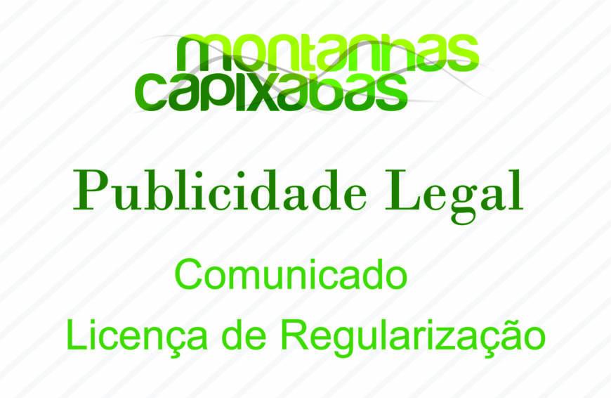 Regularizacao