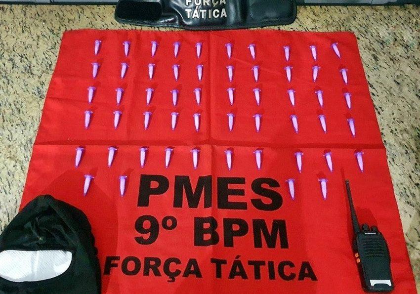 Texto: PMES / Foto: Polícia Militar